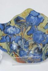 CARMANI - elegante Porzellanserien in Limited Edition. Vincent van Gogh - Teabag aus Glas - Schwertlilien