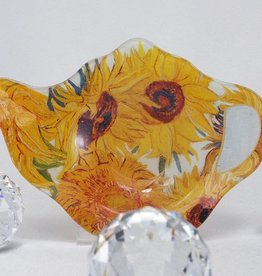 CARMANI - elegante Porzellanserien in Limited Edition. Van Gogh - Teabag - Sunflowers