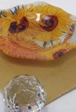 CARMANI - elegante Porzellanserien in Limited Edition. Vincent van Gogh - Teabag aus Glas - Sonnenblumen