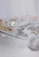 CARMANI - 1990 Gustav Klimt - The Kiss - Decoration Bowl / Glass Bowl