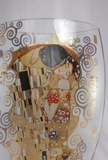 CARMANI - elegante Porzellanserien in Limited Edition. Gustav Klimt - Der Kuss - Dekorationsvase / Glasvase  II