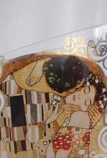CARMANI - 1990 Gustav Klimt - Der Kuss - Dekorationsvase / Glasvase  III