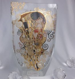 CARMANI - 1990 Gustav Klimt - The Kiss - Glass vase I
