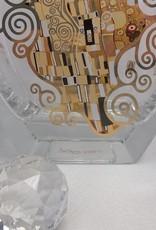 CARMANI - elegante Porzellanserien in Limited Edition. Gustav Klimt - Der Kuss - Dekorationsvase / Glasvase