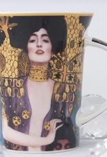 CARMANI - elegante Porzellanserien in Limited Edition. Gustav Klimt - Judith I - Kaffeetasse im Geschenkkarton
