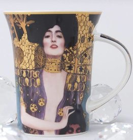 CARMANI - elegante Porzellanserien in Limited Edition. Gustav Klimt - Judith I Coffee Mug X