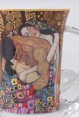 CARMANI - 1990 Gustav Klimt - Familie - Kaffeetasse im Geschenkkarton