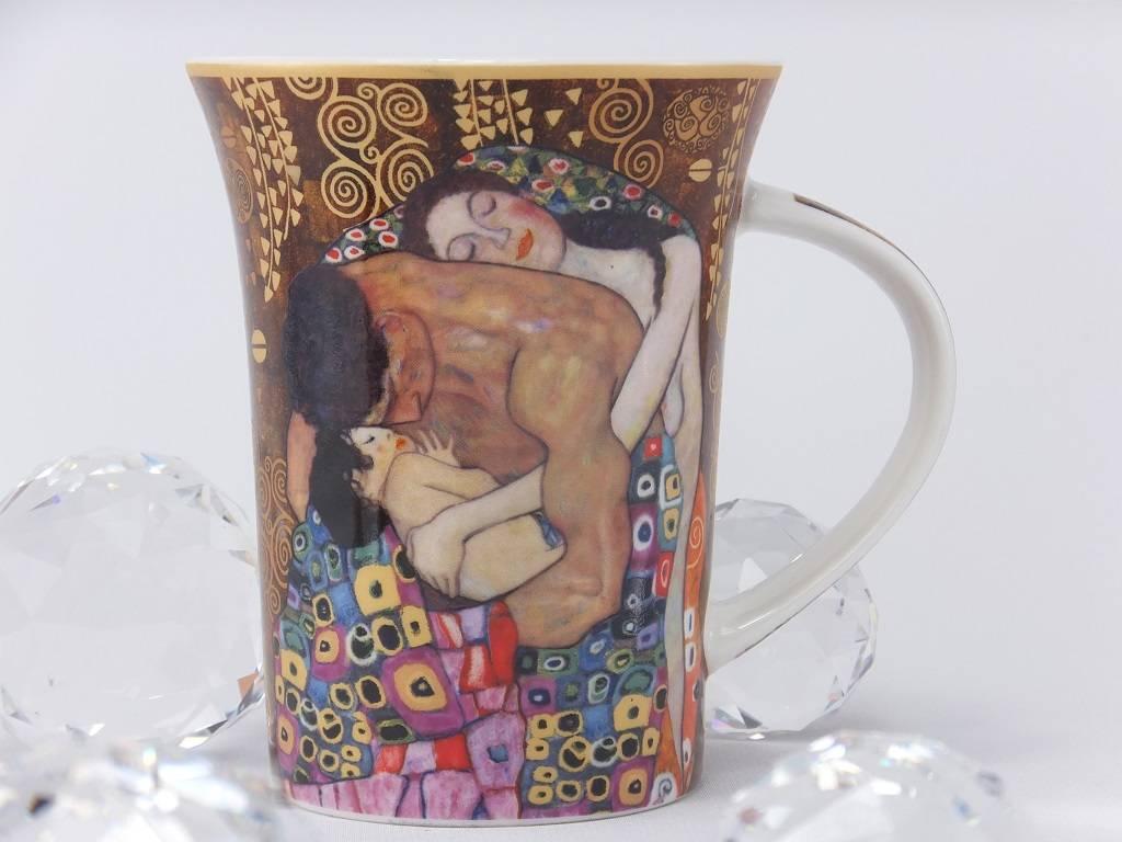 CARMANI Gustav Klimt - Familie - Kaffeetasse im Geschenkkarton