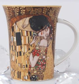 CARMANI - elegante Porzellanserien in Limited Edition. Gustav Klimt - The Kiss - Coffee Cup X