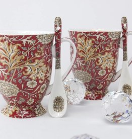 Queen Isabell The Morris - Heart Set 4 - piece red