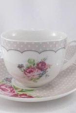 Dallas - stylish coffee cups Set made of porcelain