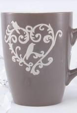 Denver - dekorative Kaffeetasse mit Ornament