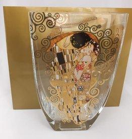 CARMANI - elegante Porzellanserien in Limited Edition. Gustav Klimt - Der Kuss - Vase I