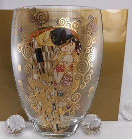 CARMANI - elegante Porzellanserien in Limited Edition. Gustav Klimt - Der Kuss - Vase I I