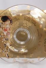 CARMANI - elegante Porzellanserien in Limited Edition. Gustav Klimt - Der Kuss - Dekorationsschale / Glasschale