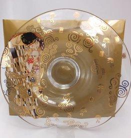 CARMANI - 1990 Gustav Klimt - Der Kuss - Glasschale