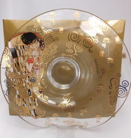 CARMANI - elegante Porzellanserien in Limited Edition. Gustav Klimt - The Kiss - Glass Bowl