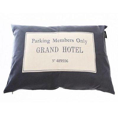 Lex & Max Hondenkussen Grand Hotel Antraciet