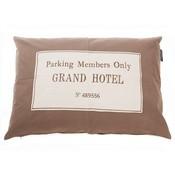 Lex & Max Hondenkussen Grand Hotel Taupe
