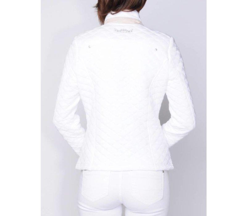 blazer LELA white