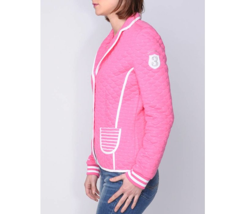 LLESENIA BRIGHT PINK | WHITE