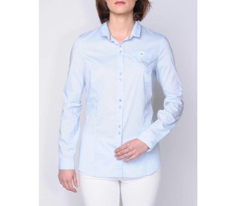 blouse MACARIA skyblue