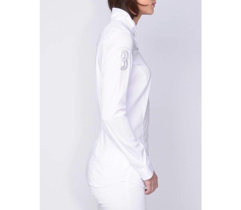 blouse MACARIA white
