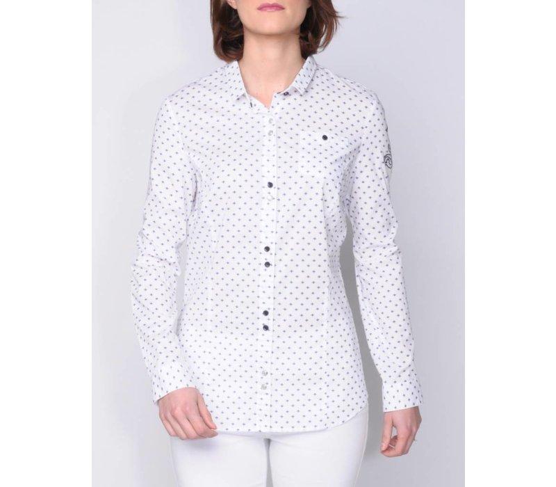 blouse MADENA white-m.navy