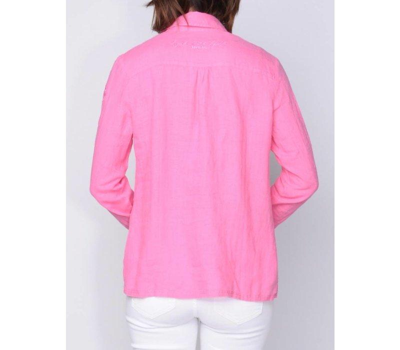 blouse MAGDALENA brightpink
