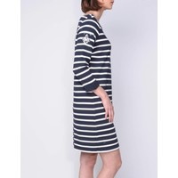 dress MARIPOSA m.navy-white