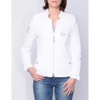 jacket LLUVIA white