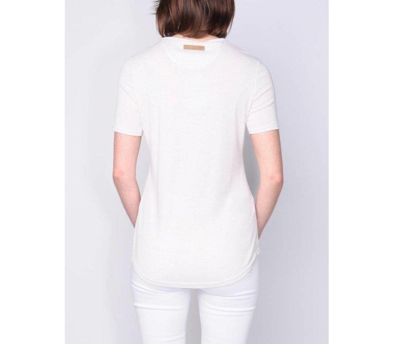 t-shirt SARELLA white-desert