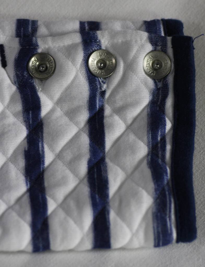 L'Argentina blazer LALINDA white-royalblue