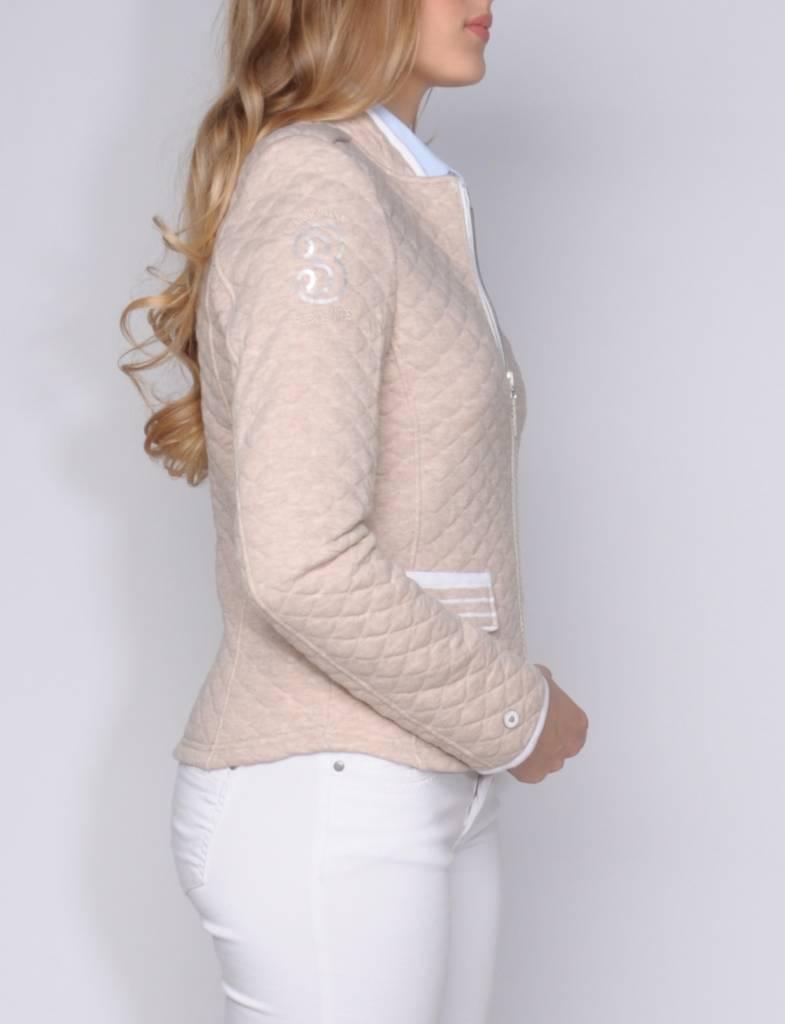 L'Argentina jacket LOLETA dessert-white