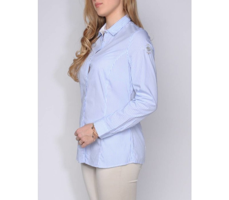 MADINA LIGHT BLUE | WHITE