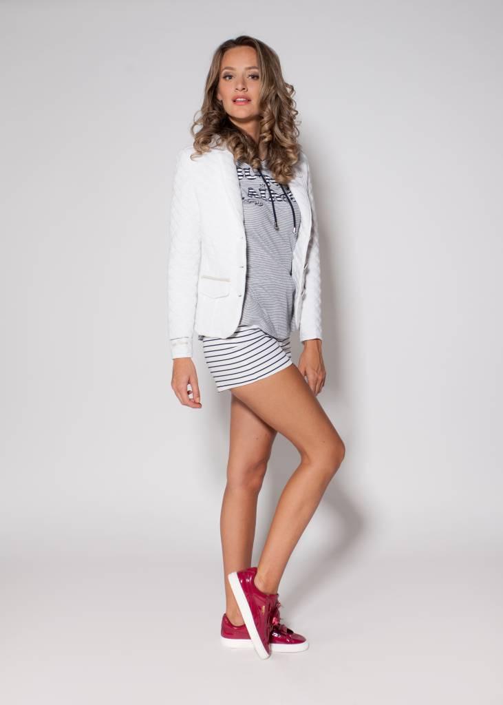 L'Argentina blazer LELA white