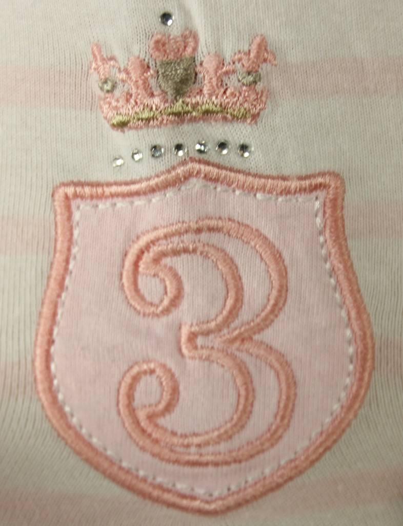 L'Argentina top SALBATORA blush-white