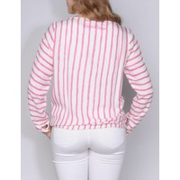 blouse MANUELA brightpink-white