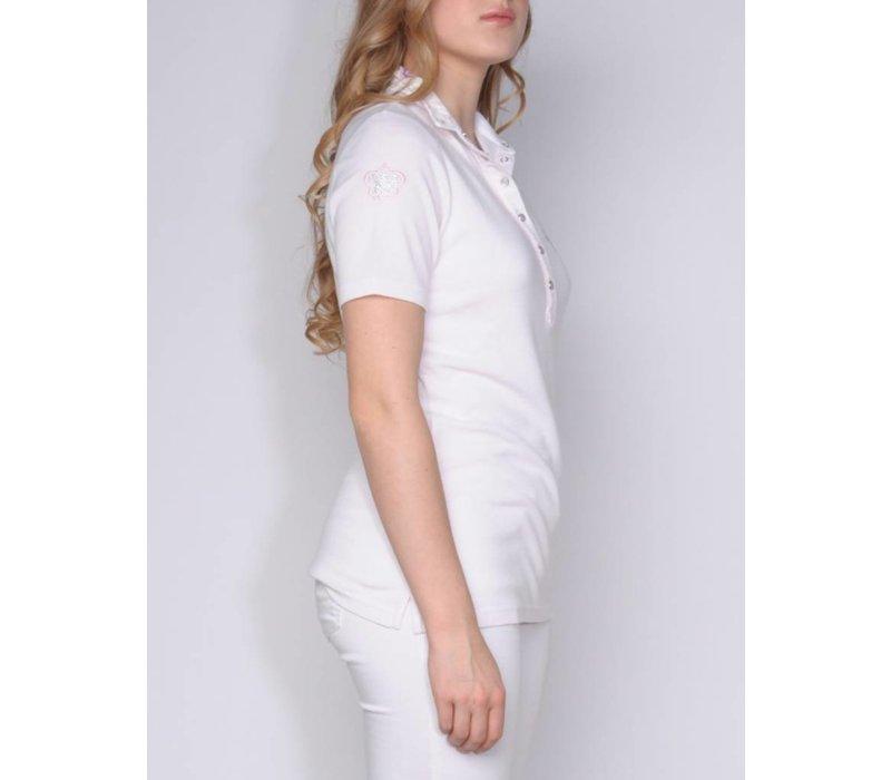 polo AGUSTINA white-blusch