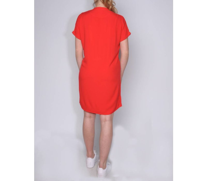 dress MAYTE tomato