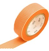 MT masking tape border orange