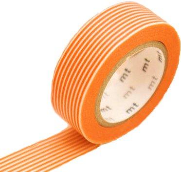 MT masking tape border orange