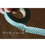 MT masking tape border green