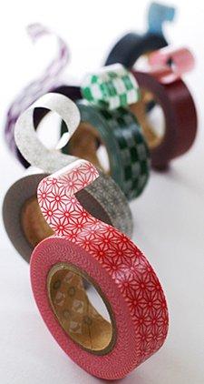MT washi tape shocking red