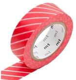 MT masking tape stripe red