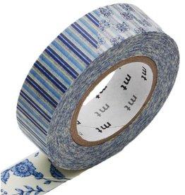 MT  MT masking tape ex flower blue