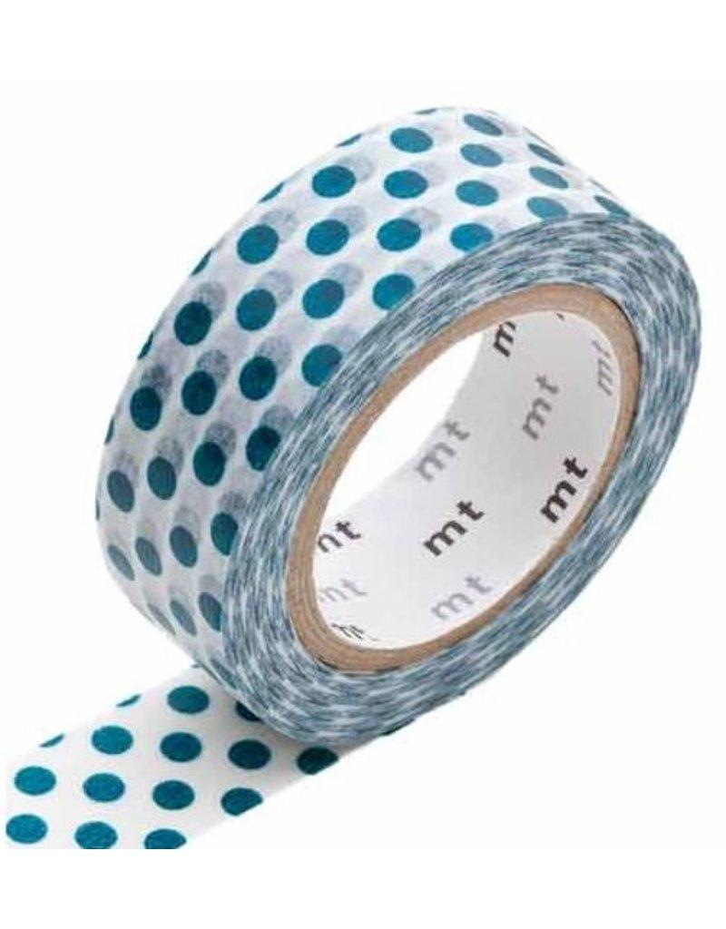 MT masking tape dot bottle green