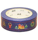 MT masking tape Kerst stitch