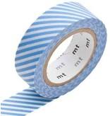 MT masking tape stripe light blue