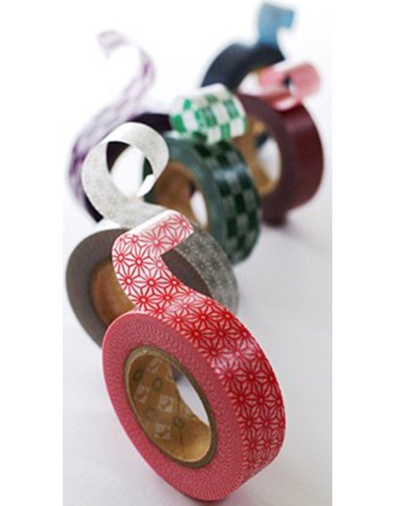MT masking tape tile green